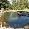 Rock Lined Pond