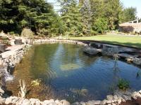 Rock Lined Pond