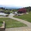Paver Sidewalk Around The Pond